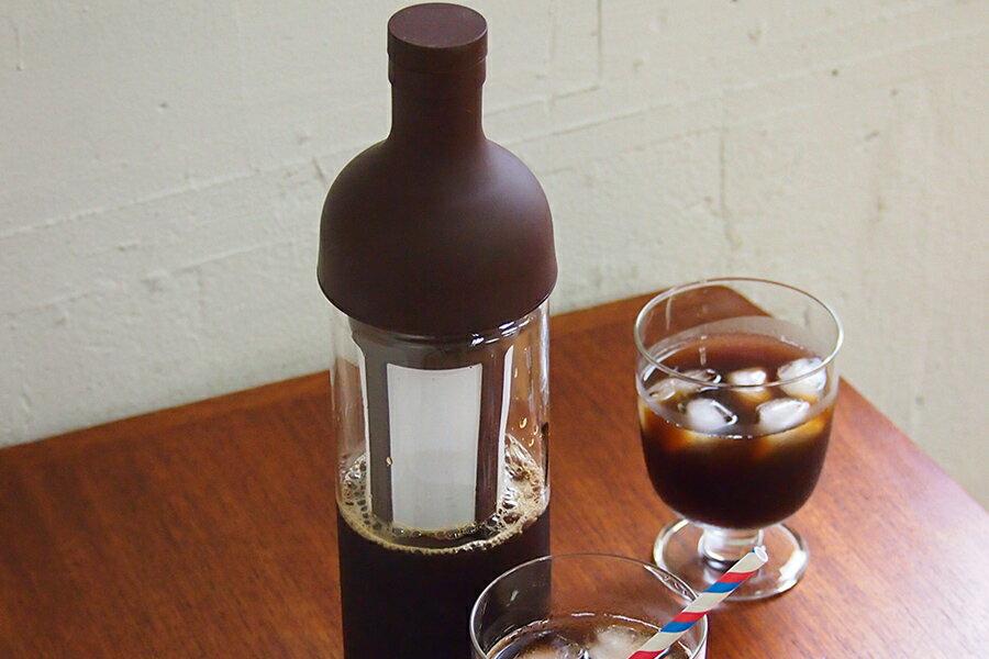 ハリオ フィルターインコーヒーボトル ショコラブラウン / HARIO