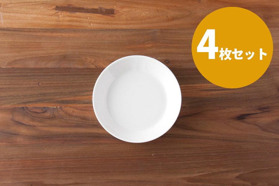 ■【4枚セット】イッタラ ティーマ プレート 15cm ホワイト / iittala TEEMA