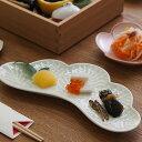 【〜12/1 期間限定P10倍】幸楽窯 錦 銀 松葉形 前菜皿