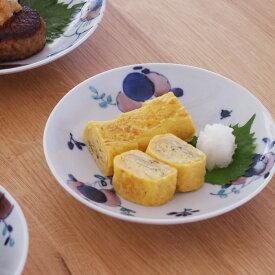 九谷青窯 高原真由美 色絵花束 6寸皿