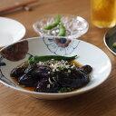九谷青窯 高原真由美 色絵ビオラ 6.5寸皿