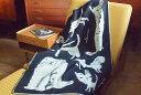 ラプアンカンクリ ブランケット 90×130cm KOIRAPUISTO ブラック / LAPUANKANKURIT