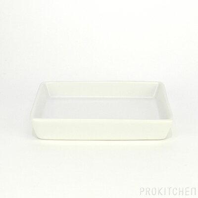 【売り切りSALE】M-style Ambiente トレイディッシュ 長角 深型 ホワイト