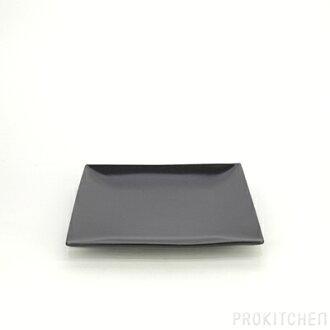 M-style Spazio square plate 19 cm black