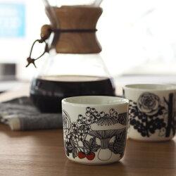 ■【2個セット】マリメッココーヒーカップ200ml取っ手なしヴェルイェクセトゥ/marimekkoVeljekset
