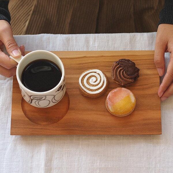 木のカフェトレイ 桜 24×15cm / PROKITCHEN 【1点までネコポス可】