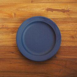 """【プロキッチン別注】SAKUZANSaraプレート20cm7""""ネイビーブルー【こんまりときめきライフ掲載品】"""