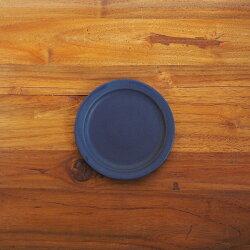 【プロキッチン別注】SAKUZANSaraプレート14cmネイビーブルー【こんまりときめきライフ掲載品】