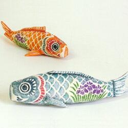 真工藝木版手染めぬいぐるみ鯉のぼりセット