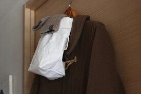 ウォッシュママ ウォッシャブルペーパーホールドバッグ ロング ホワイト / UASHMAMA 【2点までネコポス可】 ※