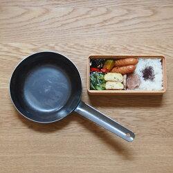【プロキッチンオリジナル】山田工業所鉄打出ちょこっとフライパン16cm(2.3mm)/PROKITCHEN
