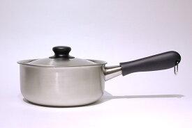 柳宗理 ステンレス・アルミ3層鋼片手鍋 18cm つや消しIH対応 / Sori Yanagi
