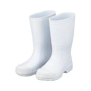 サニフィット耐油長靴 白 (先芯入軽量タイプ) 25.0cm 男性用