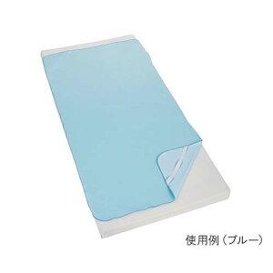 防水シーツ 四隅ゴム付き ブルー 100-26