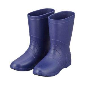 サニフィット耐油長靴(軽量タイプ) 24.0cm 青 女性用
