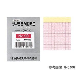 サーモラベル(R)ミニシリーズ(不可逆) No.75 1袋(200枚入)