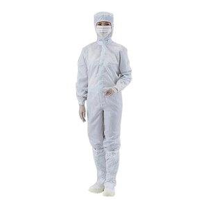 アズピュアCRウェア (フード一体・センターファスナー型・クリーン洗浄済) 白 3L 12110SW