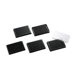黒色マイクロプレート 平底 96well・I型 未滅菌 (フタなし) P96F19N 1箱(5枚×10袋入)