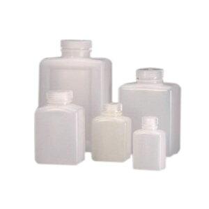 角型試薬ボトル HDPE 透明 2000mL 2007-0064JP 1パック(4本入)