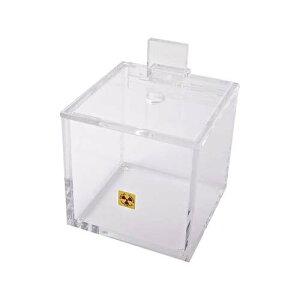ベータ廃棄ボックス (穴付き) ピペットチップ用 152.4*152.4*152.4mm DLN172674-EF12604