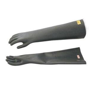 静電気用手袋 黒 アーステロン長 GC-8