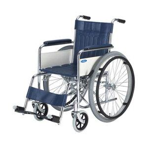 車椅子 (自走式/スチール製/エアータイヤ/ボンベ架付き) AND-1-B