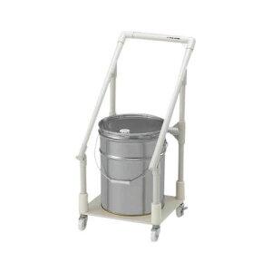 廃液回収トレーワゴン ペール缶1ヶ用