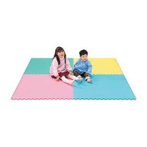 エッグクッションマット ピンク 1組(4枚入)【reha】