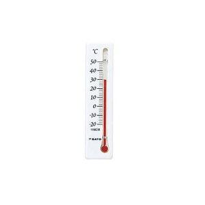 温度計ミニ 縦型ホワイト 1032-00