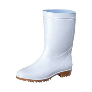 抗菌長靴 ゾナG3耐油 白 24cm