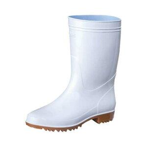 抗菌長靴 ゾナG3耐油 白 26.5cm
