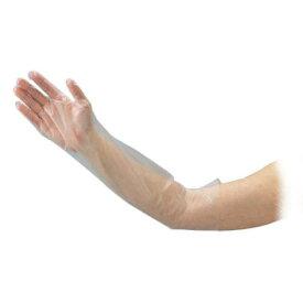 ポリエチレンロング手袋 (ひじピタ) 100枚入 M