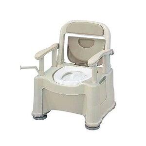 ポータブルトイレ (座楽) (背もたれ型SP) VALSPTSPBE