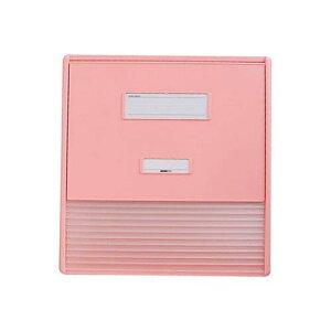 カードインデックス A3/A4 (縦2面) 10名用 ピンク HC113C