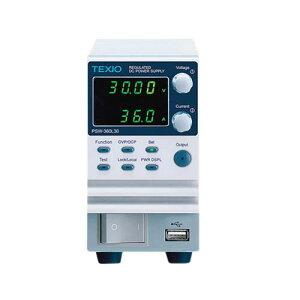 直流安定化電源 (ワイドレンジ) PSW-360L30(電気材料/器具/電圧変換器/UPS/変圧器/無停電電源装置)