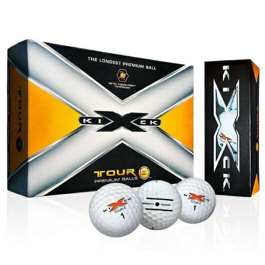 Kick X Golf Tour-Z Golf Ball キック エックス ゴルフ ツアーゼット ゴルフボール 1ダース