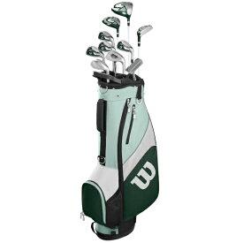 Wilson Staff Women's Profile SGI Complete Cart Golf Club Set ウィルソン プロフィール SGI レディス ゴルフ クラブセット