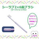 ◆アイ・ソネックスシーラブ2×6(ツーバイシックス)歯ブラシ10本セットアソートメール便2セットまでOK!