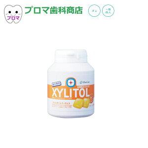 オーラルケア キシリトールガムボトル153g オレンジ味 1個