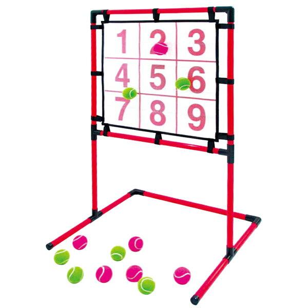EnjoyFamily.エンジョイファミリー SAKURAI マジックナイン EFS-180N(ストラックアウト ボード 子供 子ども 遊び ゲーム 練習 トレーニング 投球練習 安全 省スペース 的 野球 )