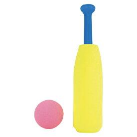 あす楽 EnjoyFamily.エンジョイファミリー やわらかスポンジバット FSP-1631 (おもちゃ バット スポンジ やわらかい 子供 子ども 室内 遊び キッズ 公園 遊び ファミリー 運動 スポーツ 野球)