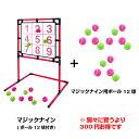 あす楽 送料無料 EnjoyFamily.エンジョイファミリー SAKURAI マジックナイン EFS-180NとEFS-180ballのセット (ストラックアウト ボード ボール 子供 子ども 遊び