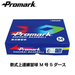 あす楽 送料無料 まとめ買いする方が増加中! PROMARK・プロマーク 軟式ボール練習球 M号ダース箱 LB-312Mx5ダース (野球 ボール 軟式 練習用 練習球 M号 M球 一般用 中学生用 軟式球 軟式ボール