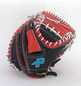 あす楽 送料無料 PROMARK・プロマーク 野球グローブ PCM-9783 (野球 グローブ 軟式用 グラブ 一般用 軟式グラブ キャッチャーミット 捕手用 ブラック×レッドオレンジ)