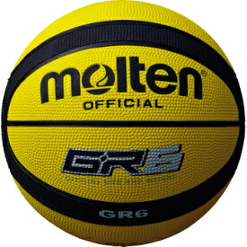 molten モルテン 6号 ゴムバスケットボール BGR6-YK(ゴム バスケットボール バスケット ボール バスケ 球)