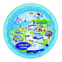 80551-WP500 ジオラマタウン 100cm(水遊び おもちゃ 玩具 ゴムボール プール 夏)