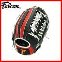 軟式一般用野球グローブ FG-6510 (野球グラブ 軟式野球 Falcon ファルコン 親指革命 一般 軟式用グローブ オールラウンド用 黒 赤 白) 02P03Dec16