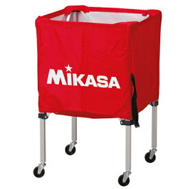 ミカサ【MIKASA】ボールカゴ (フレーム・幕体・キャリーケース3点セット)BC-SP-SS-R