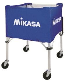 【MIKASA】ミカサ バレーボールカゴ (67×67×107cm)3点1セット (フレーム・幕体・キャリーケース)ブルー/イエローbc-sp-hl bl-y