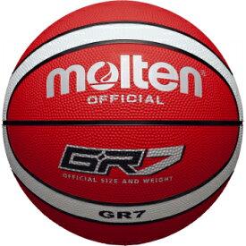 molten モルテン ゴムバスケットボール 7号 BGR7-RW(ゴム バスケット ボール 球 部活 チーム)